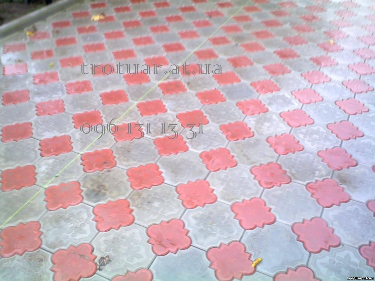 Ромашка тротуарная плитка фото